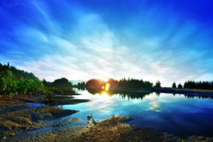 sunrise 1704446 1920 300x200 - La Calma y cómo lograrla: Trabajando con el inconsciente